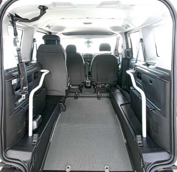 Fiat Doblo Wav 3 plus 1 configuration