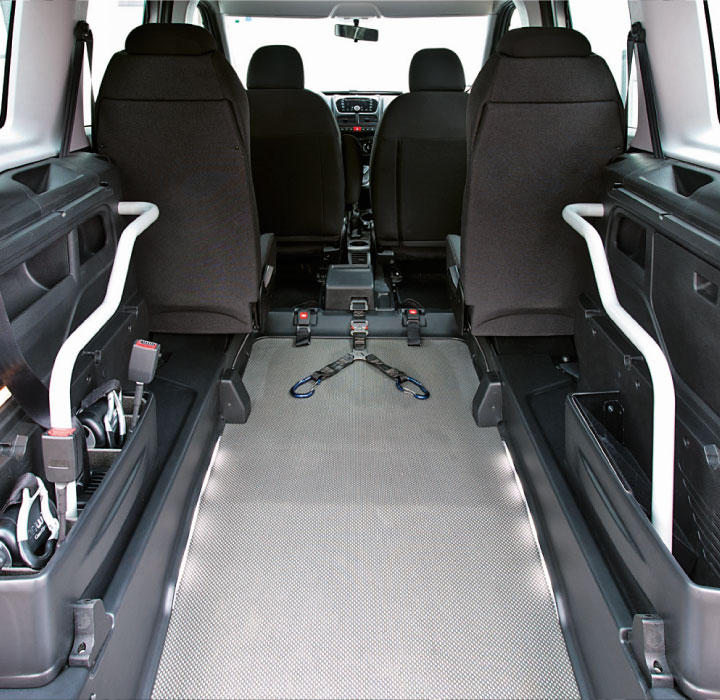 Fiat Doblo Wav Wheelchair Parking Area