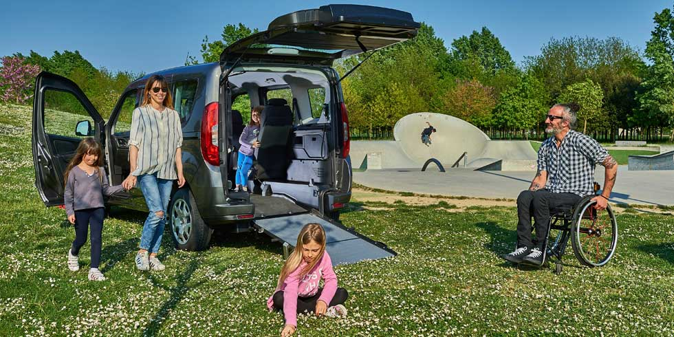 Fiat Doblò Wheelchair Accessible Vehicle