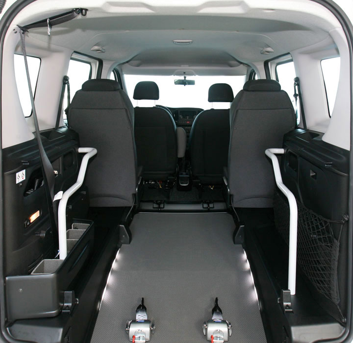 Fiat Doblo Wheelchair Accessible Veihcle L1