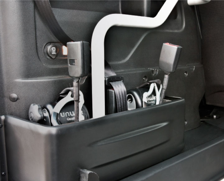 Opel Combo Wav Restraint Storage Compartment