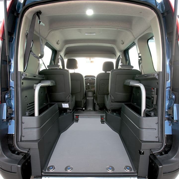 Lowered floor vehicles focaccia group automotive car for Renault kangoo interior