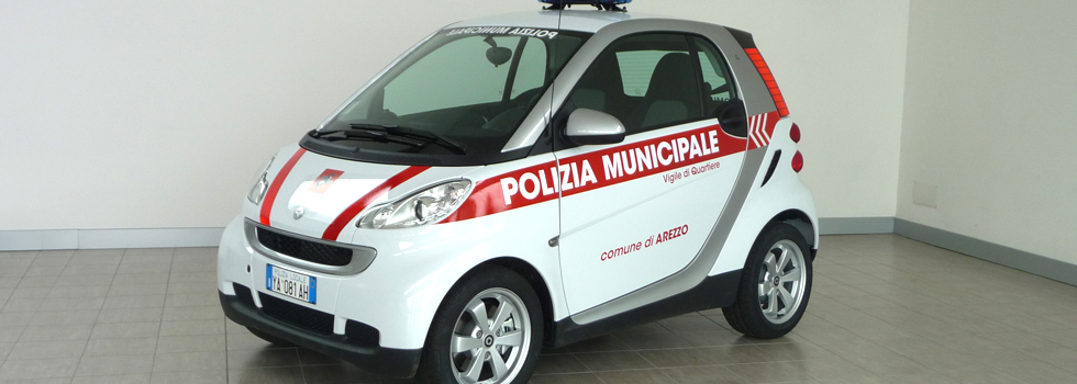 Smart for Two - Allestimento polizia Locale Focaccia Group