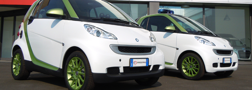 Smart Electric Drive Gendarmeria Vaticana  - Allestimento Focaccia Group