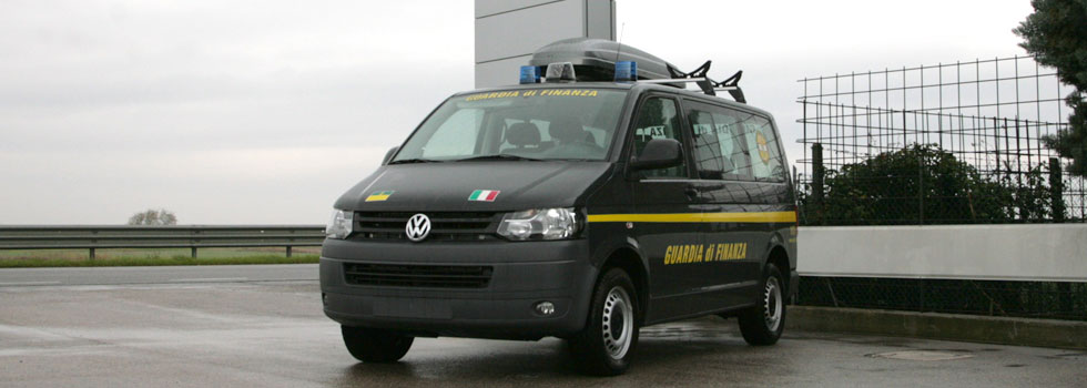 Volkswagen Transporter Guardia Di Finanza Focaccia Group