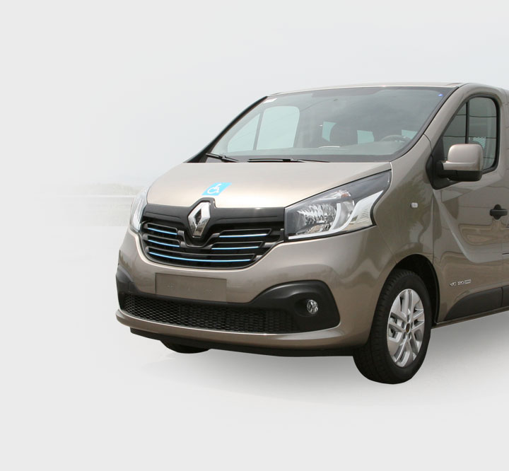 Renault Trafic Interior Trims for Taxi