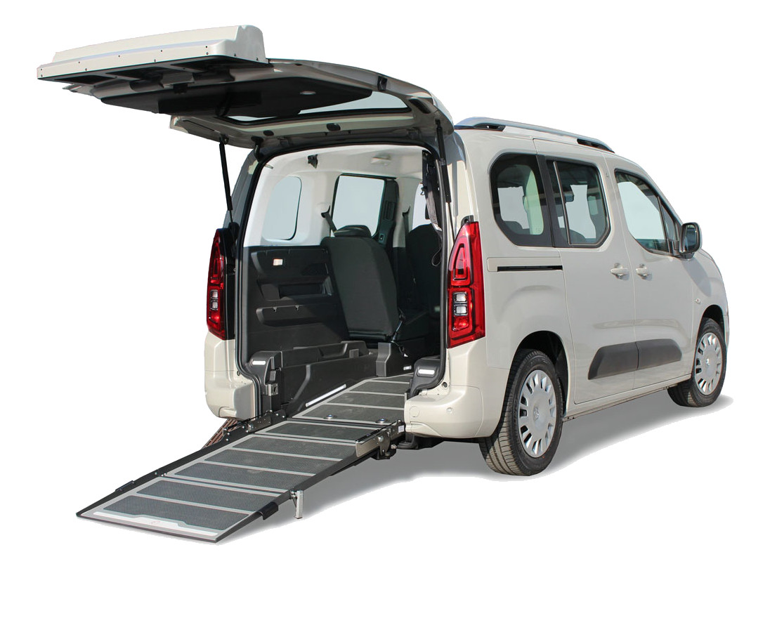 Accessible wheelchair opel combo f-style