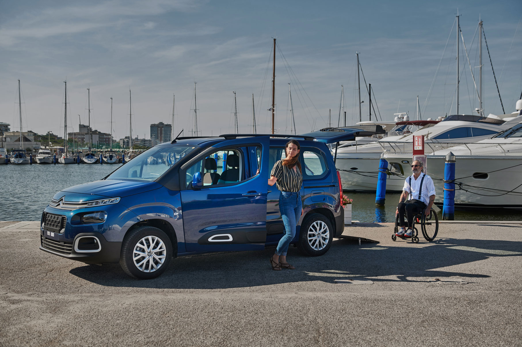 Accessible wheelchair Citroen Berlingo